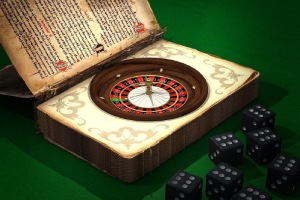 Book and roulette